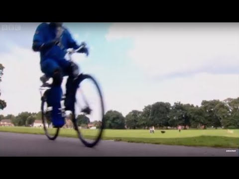 Rocket Powered Bicycle | Speed | Top Gear