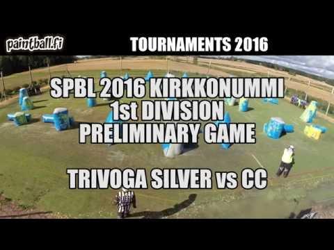 Trivoga Silver vs CC - SPBL2016 Kirkkonummi