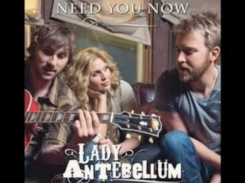 Need You Now Lady Antebellum Letra Con Traducción En Español De Ingles Letras4u Com