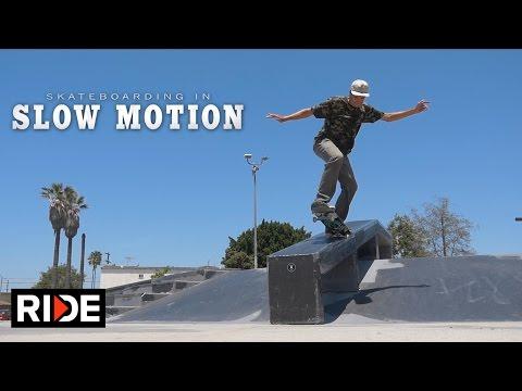 Scott Decenzo Skateboarding in Slow Motion