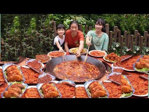 大胃王,全村第一吃貨消滅30斤麻辣香鍋