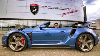 Тест-драйв PORSCHE 911 Turbo TOPCAR STINGER - 540 сил и 710 Нм! TOPCAR Premier. Обзор. Cabriolet.