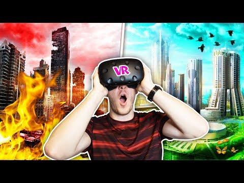 ZNIČÍM NEBO ZACHRÁNÍM SVĚT? | Virtuální Realita | HouseBox