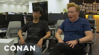 "Conan Visits The Offices Of ""Death Stranding"" Creator Hideo Kojima - CONAN on TBS"