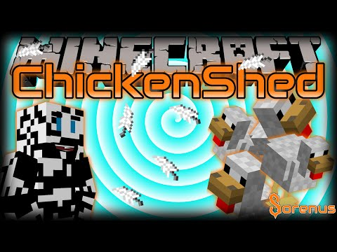 Minecraft | CHICKEN SHED MOD | Sorenus Mods 184