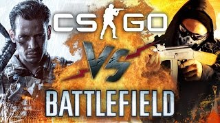 Рэп Баттл - Counter-Strike: Global Offensive vs. Battlefield