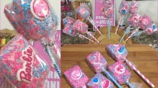 Barbie Rice Crispy Treat Pops(How To)