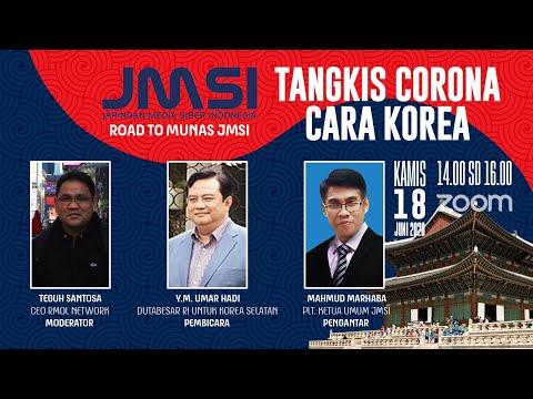 Road to Munas JMSI: Tangkis Corona Cara Korea