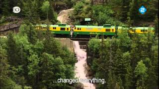 Rail Away & USA Alaska with English subtitles HD