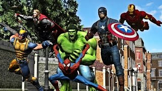 Marvel Ultimate Alliance Full Movie All Cutscenes Cinematic