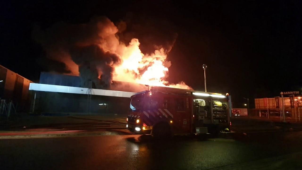 04-11-2020 Zeer grote brand in Gouda – deel 2: De Vlammenzee