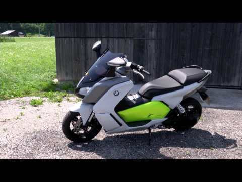 BMW Evolution Scooter