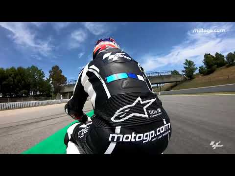 A lap of the Barcelona-Catalunya with Simon Crafar & GoPro™