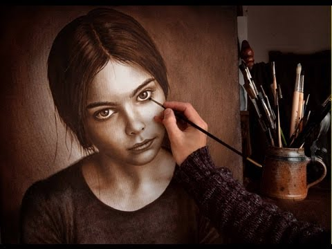 how to draw speed painting portrait