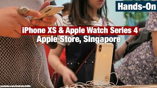 Apple Store Hands On iPhone Xs / Xs Max & Apple Watch Series 4 - Indonesia