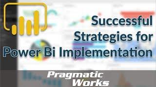 Successful Strategies for Power BI Implementation