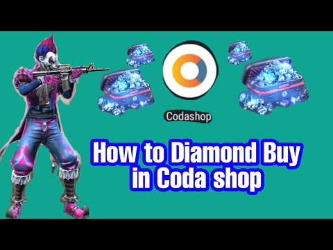 How to Buy Free diamond in Coda shop ✓Garena Free Fire.