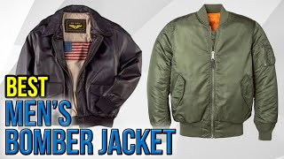 7 Best Mens Bomber Jackets 2017