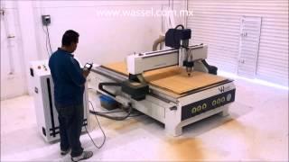 Fabricación De Entrepaños De MDF Hecho En Router CNC Wassel 3 Ejes