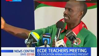 Ministry of Education meets stakeholders to discuss affairs of ECDE teachers