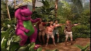 Barney jungle adventure song from barney imagination island
