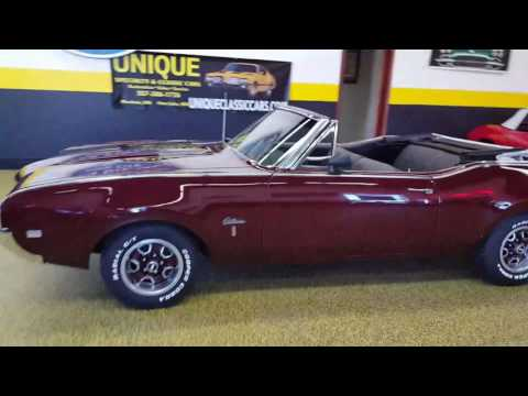 Video of '68 Cutlass    Convertible - L9ZI