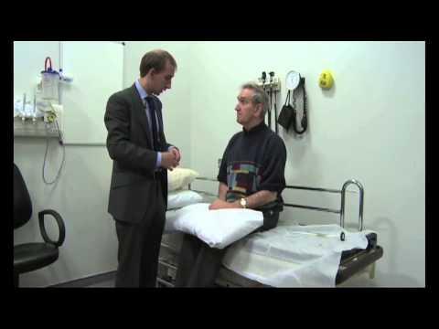 Pacjent z chorobą Huntingtona