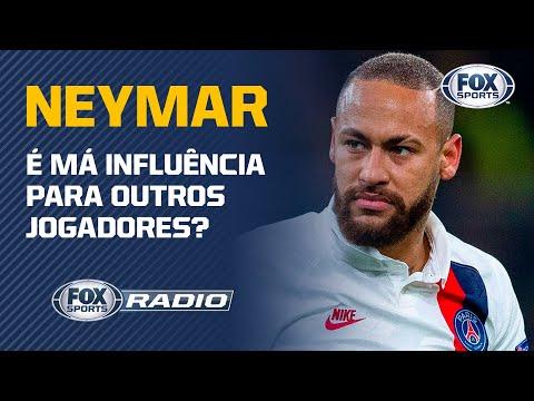 NEYMAR É MÁ INFLUÊNCIA PARA OUTROS JOGADORES? Veja debate no 'Fox Sports Rádio'