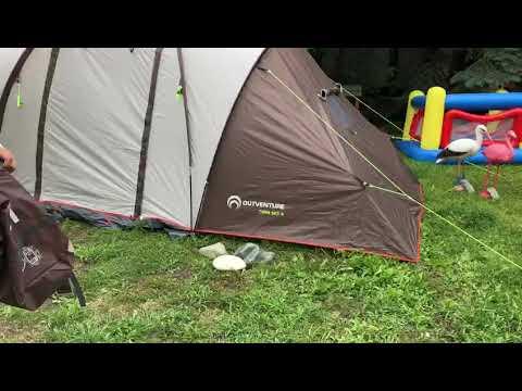 ПРОДАЖА Палатка 4-х местная Outventure Tourist tent TWIN SKY 4