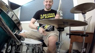 5 Seconds of Summer - Catch Fire (NEW SONG 2015) - Drum Cover - Studio Quality (HD)