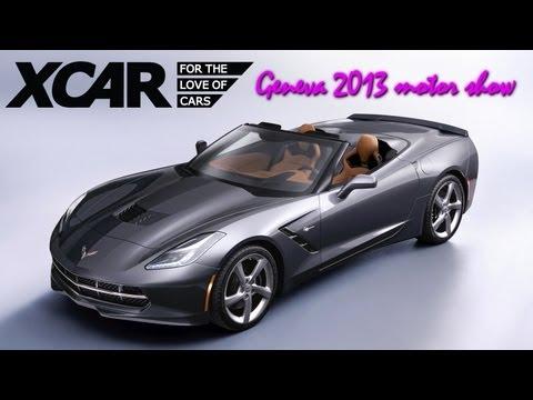 Corvette Stingray Convertible, Geneva 2013 Motor Show - XCAR