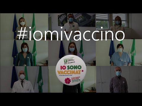 """""""Io mi vaccino"""", il personale dell' Asst Rhodense spiega perché è importante vaccinarsi"""