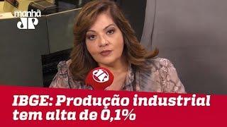 Produção industrial tem alta de 0,1% em novembro
