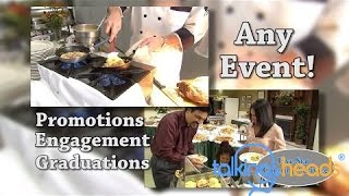 Template Video - Catering