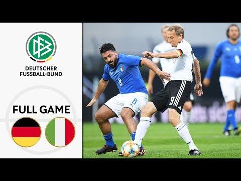 Germany vs. Italy 3-3 | Full Game | Legends Game