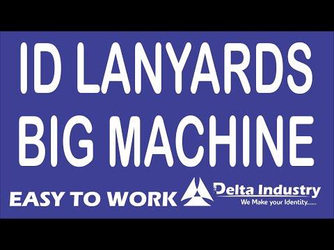 Digital Lanyards 24 Size  Printing Machine