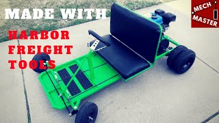 Homemade Go Kart Made W/ Harbor Freight Tools & Predator 212cc