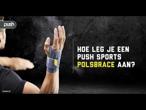 Push Sports Handgelenkbandage Rechten