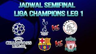 Jadwal Pertandingan Semifinal Liga Champions Leg Pertama, Tottenham Hotspur Vs Ajax Amsterdam
