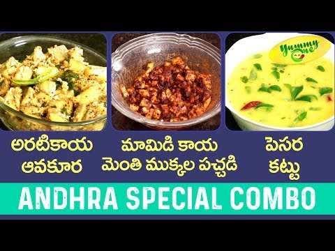 Andhra Special Combo | Three Different Tastes | YummyOne