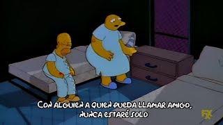 Los Simpson - Michael Jackson Le Canta A Homero (Subtitulado)