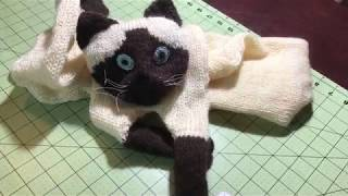 How To Make Cat Scarf Tutorial