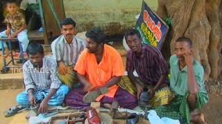 Cobblers at Rajapalayam, Tamilnadu