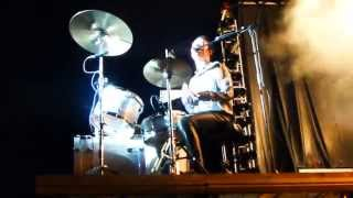 Laust Sonne Drumsolo / Everything Glows / D-A-D - Skive  (Rock ved Aaen) 23.05.2014