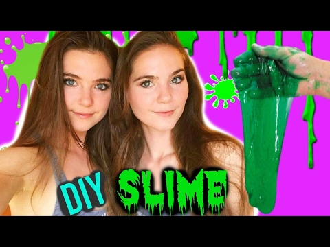 DIY SLIME - How To Make Slime - Nina and Randa