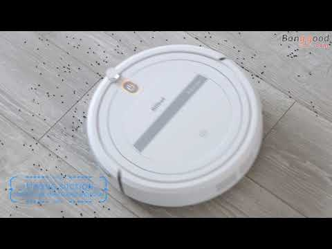 , title : 'Aiibot T288 Ultra-thin Robot Vacuum Cleaner 800Pa Suction Anti-drop Sensor Remote Control'