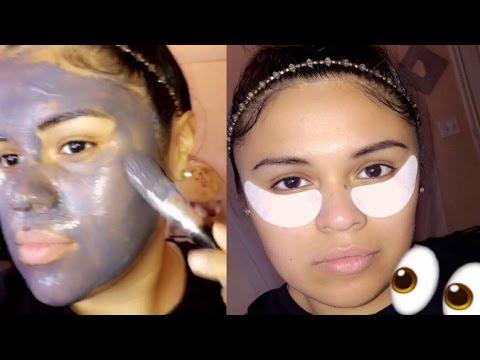 Face mask na may Bitamina E cream