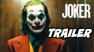 Joker Movie Trailer - Batman Easter Eggs and References Breakdown