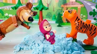 Мультфильмы Для детей - Маша и Медведь новые серии 2017 года - Удачный трюк! Мультики Для детей!