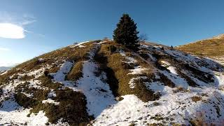 FPV Cinematic Snowy Mountain